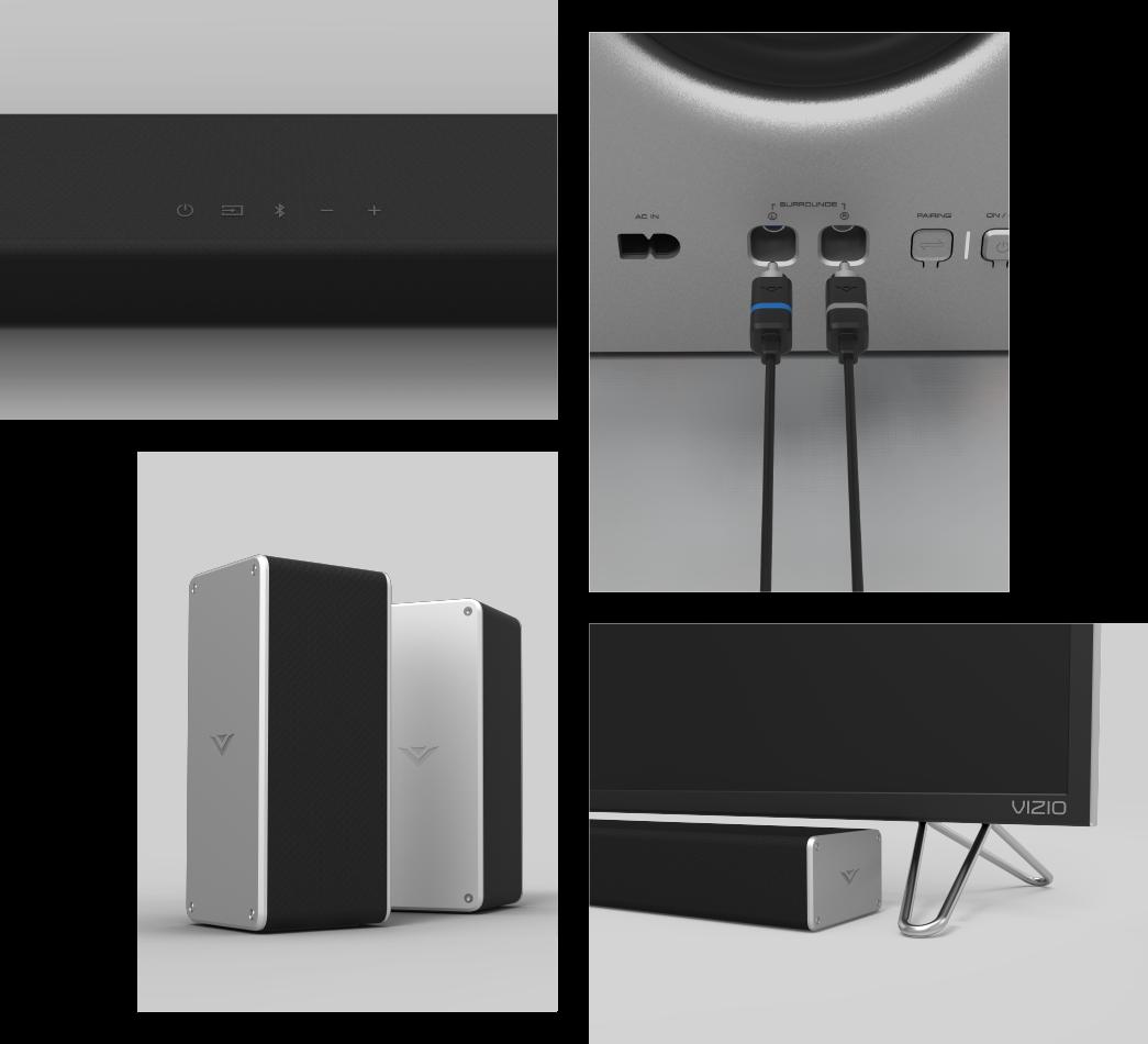Vizio Sb3651 E6c Rb 5 1 Smartcast Soundbar System Vizio