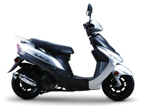 taotao atm50-a1 gas street legal scooter - silver - newegg