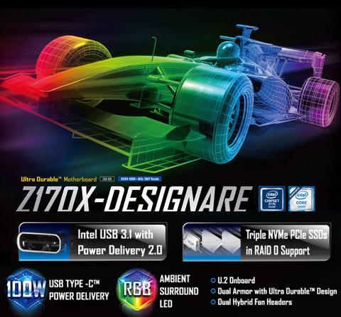 Buy GIGABYTE GA-Z170X-DESIGNARE