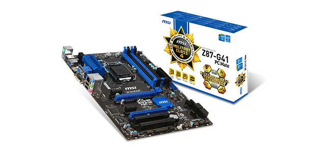 Z87-G41 PC Mate Overview Image