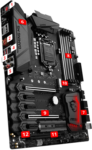 MSI Z270 GAMING M5 overview