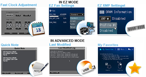 New UEFI BIOS – friendlier and more intuitive