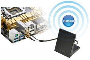 Wi-Fi GO! with Superfast 802.11ac