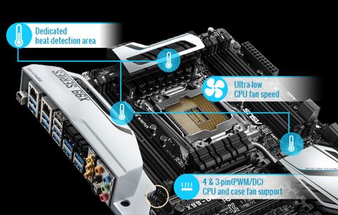 ASUS X99-PRO/USB 3 1 LGA 2011-v3 ATX Intel Motherboard