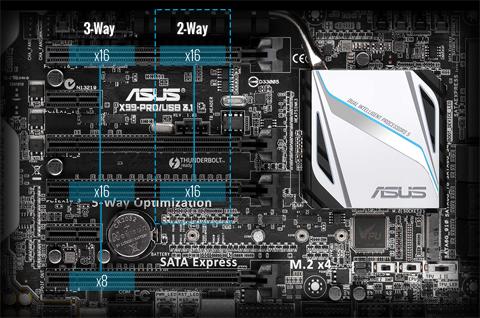 Used - Very Good: ASUS X99-PRO/USB 3 1 LGA 2011-v3 ATX Intel Motherboard -  Newegg com