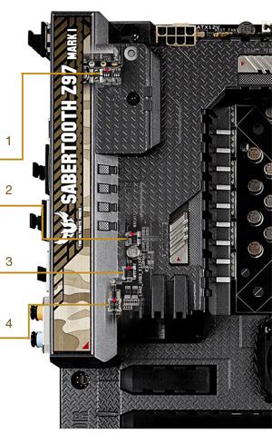 Asus SABERTOOTH Z97 MARK 2 SATA AHCI/RAID 64x