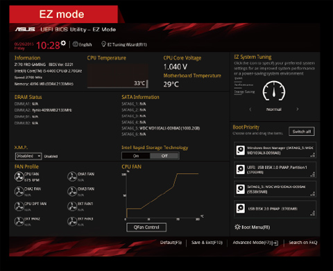 ASUS Z170 PRO GAMING Motherboard