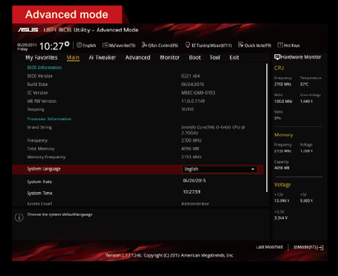 ASUS Z87 constantly boots to UEFI Bios Utility instead of