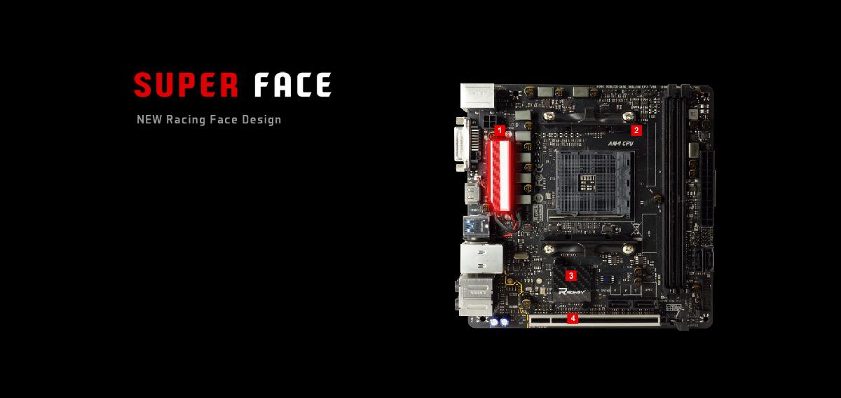 BIOSTAR X470GTN AM4 Mini ITX AMD Motherboard - Newegg com