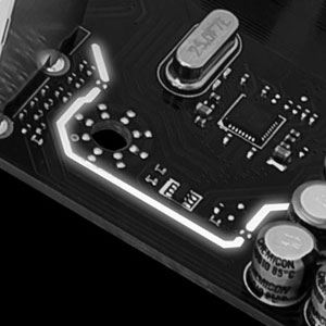 301_Isolated Audio Design with LED Border