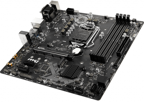 Top angle view of this motherboard