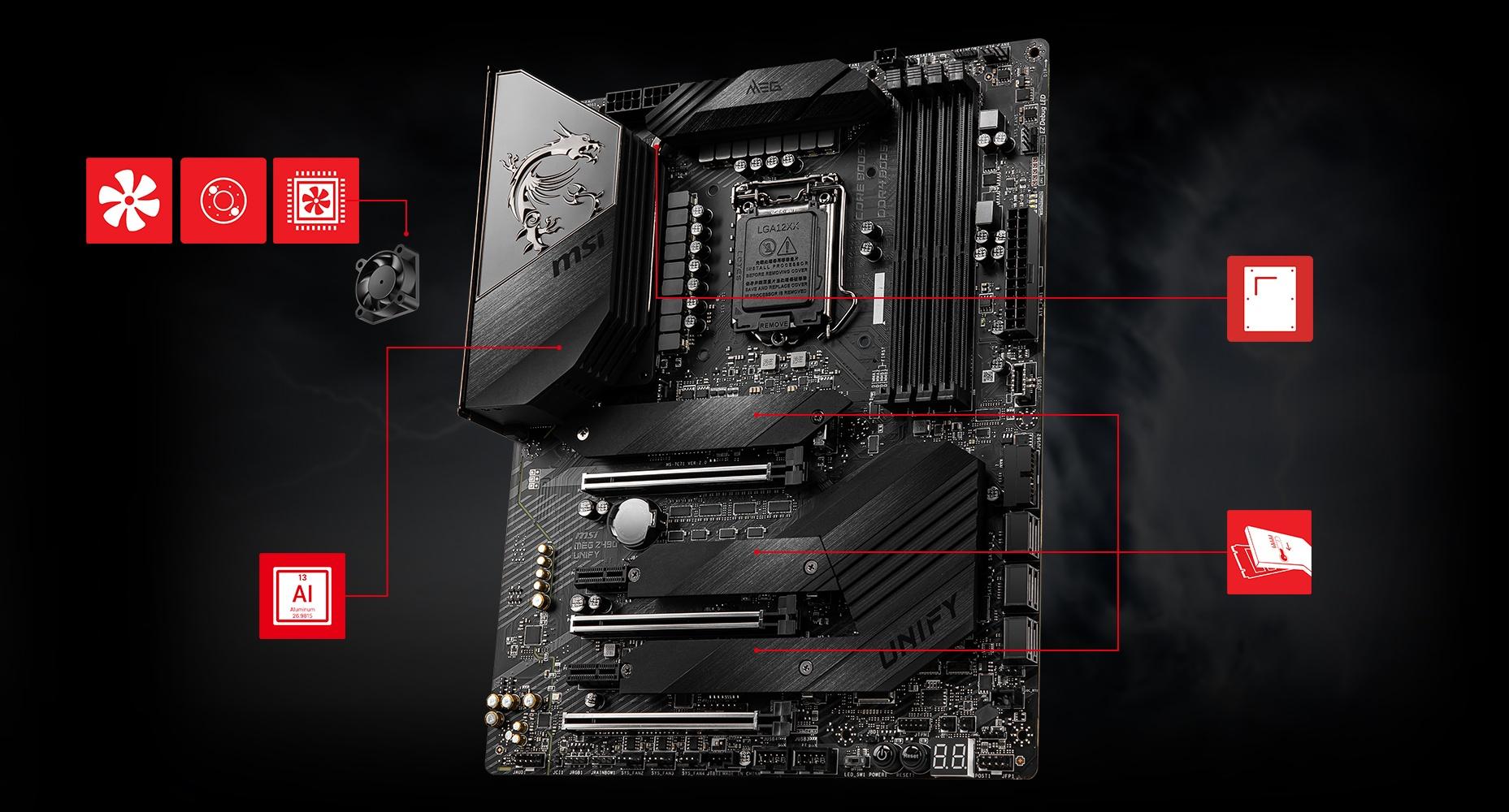 MEG Z490 GODLIKE motherboard