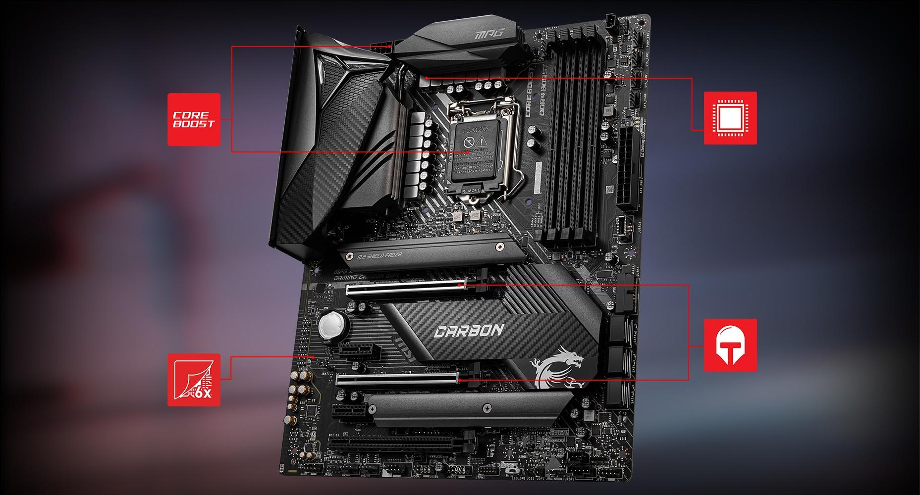 Creator TRX40 motherboard
