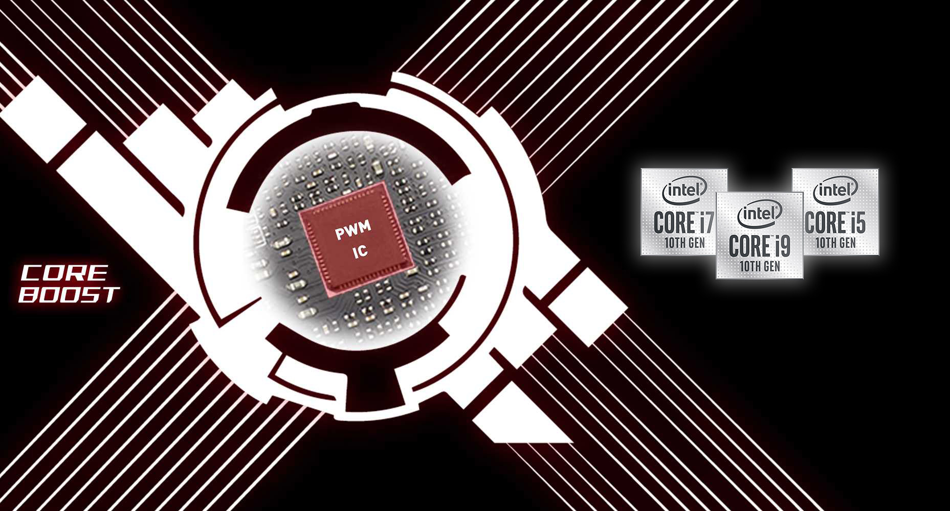core boost of the motherboard