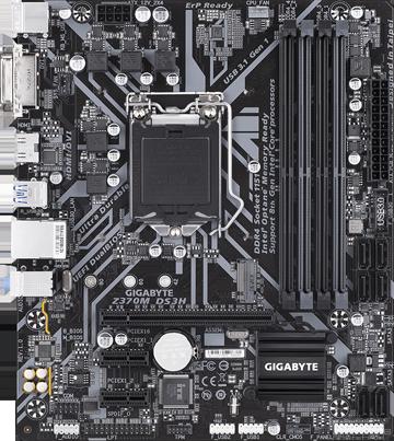 GIGABYTE Z370M DS3H Rev  1 0 LGA 1151 (300 Series) Micro ATX Intel  Motherboard - Newegg com