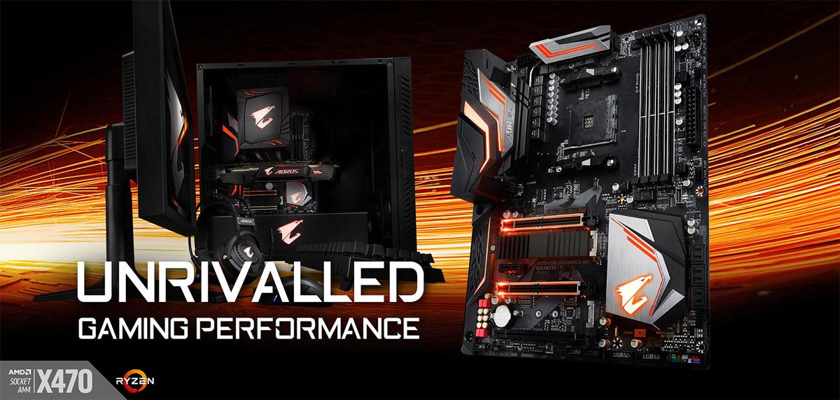 GIGABYTE X470 AORUS GAMING 5 WIFI AM4 ATX AMD Motherboard - Newegg com
