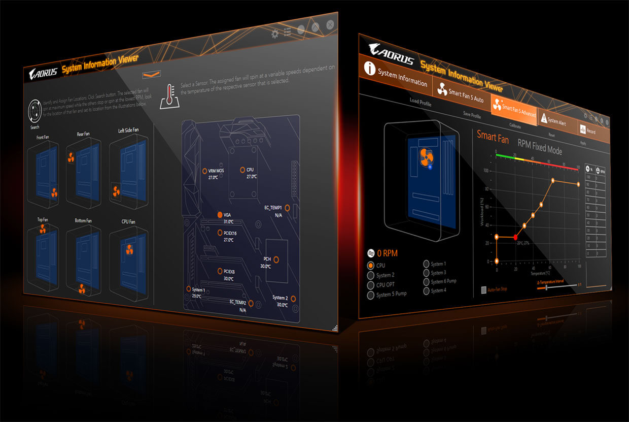Gigabyte Z390 Aorus Master Lga 1151 300 Series Intel Hdmi Adding 2 Quad Breakers Electrical Diy Chatroom Home Improvement Choose From Different Modes Quiet To Full Speed Match Your System Usage Preferences For Each Fan Or Pump You Can Use The Intuitive Curve
