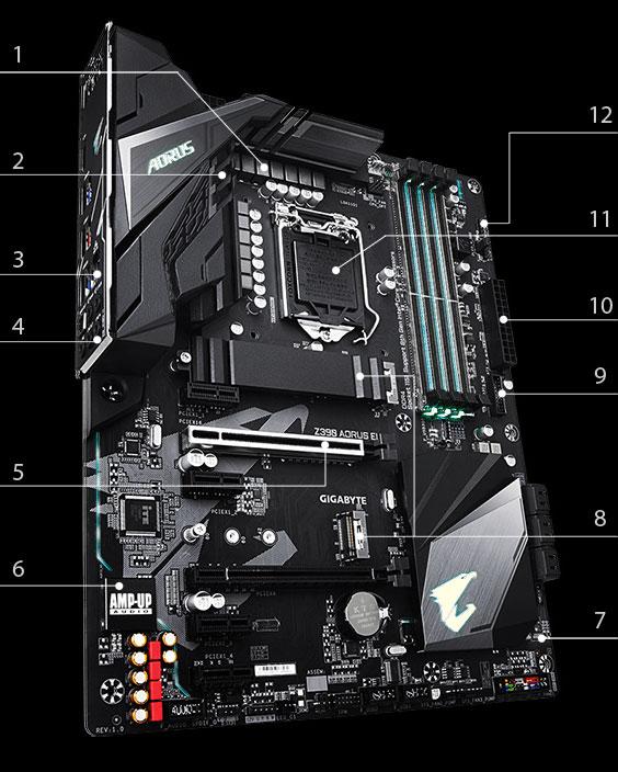 GIGABYTE Z390 AORUS ELITE LGA 1151 (300 Series) ATX Intel Motherboard -  Newegg com