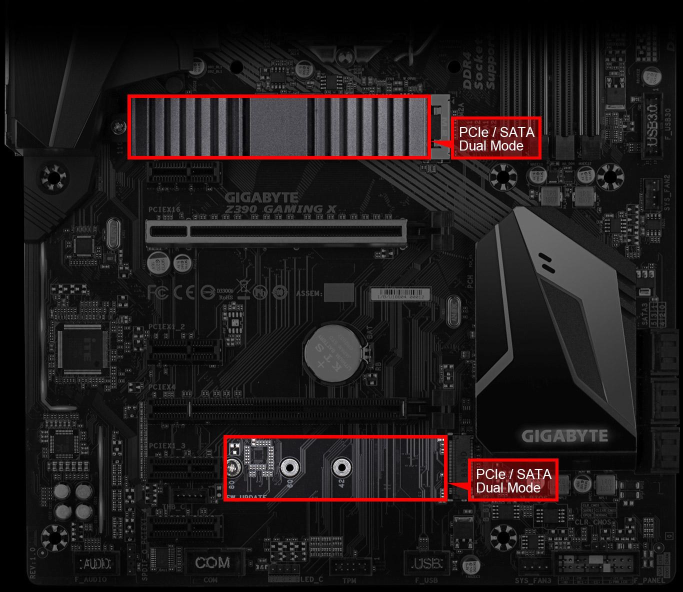 GIGABYTE Z390 GAMING X LGA 1151 (300 Series) ATX Intel Motherboard -  Newegg com