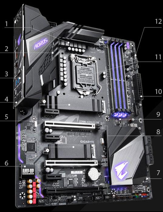 GIGABYTE Z390 AORUS PRO LGA 1151 (300 Series) ATX Intel Motherboard -  Newegg com