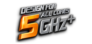 Design For All Cores 5GHz+