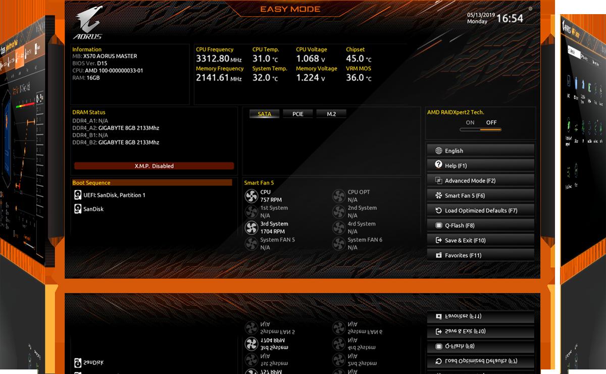 GIGABYTE X570 AORUS PRO WIFI AMD Ryzen 3000 PCIe 4 0 SATA 6Gb/s USB 3 2 AMD  X570 ATX Motherboard - Newegg com