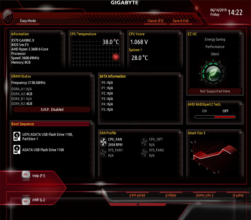 GIGABYTE X570 GAMING X AMD Ryzen 3000 PCIe 4 0 SATA 6Gb/s USB 3 2 AMD X570  ATX Motherboard - Newegg com