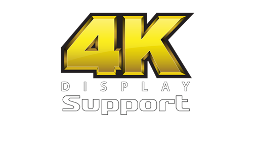 Logo of 4K display support