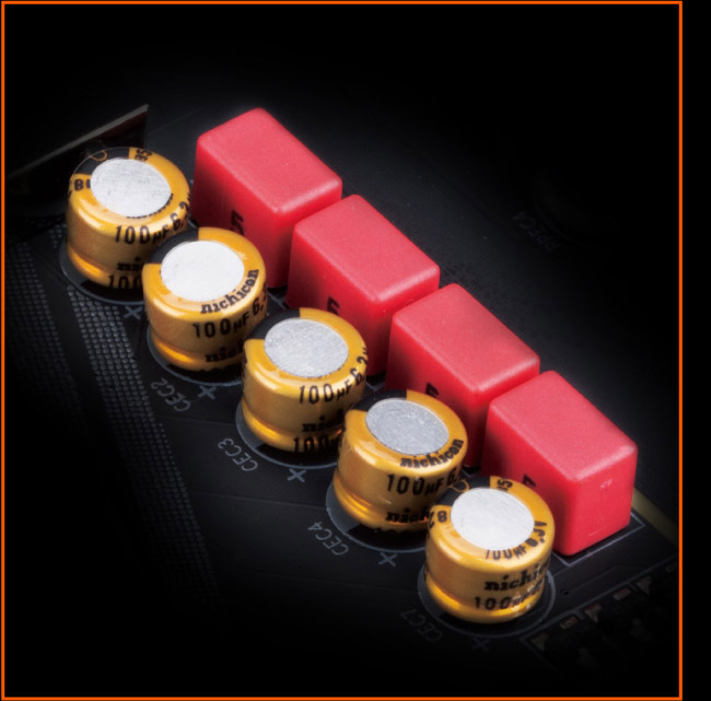 audio, detail of High-End WIMA & Audio Capacitors