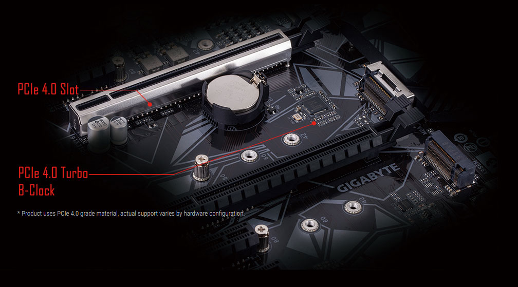 shielded design of the motherboard