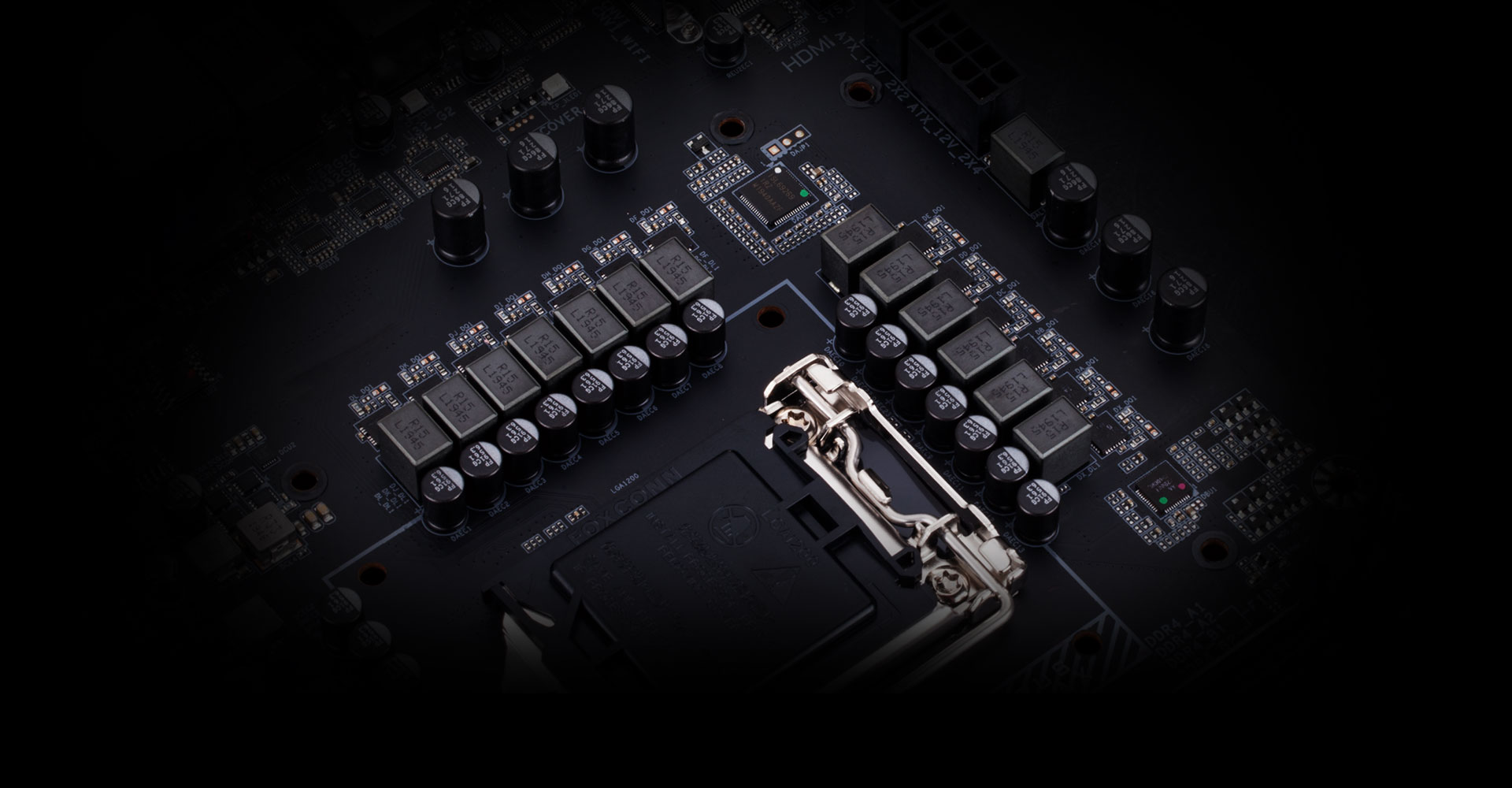 ultimate-power-design of the motherboard