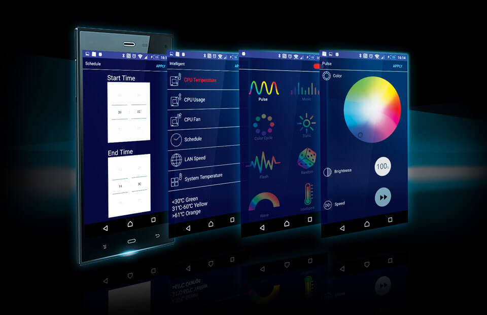 screenshot of Fusion APP