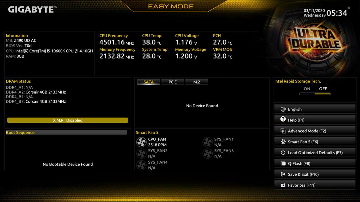 screenshot of easy mode