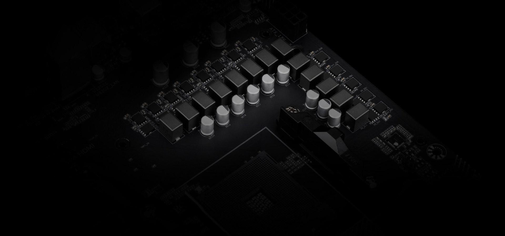 Hybrid-Digital of the motherboard