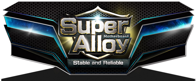 Super Alloy Motherboard Stable and Reliable logo