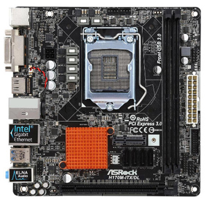 ASRock H170M-ITX/DL LGA 1151 Mini ITX Intel Motherboard - Newegg com