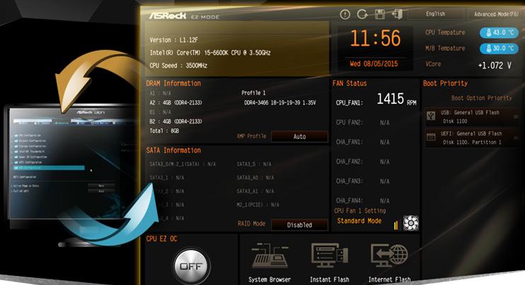 ASRock H170A-X1/3 1 LGA 1151 ATX Intel Motherboard - Newegg com