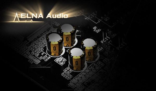 ELNA audio caps on the ASrock z390 motherboard