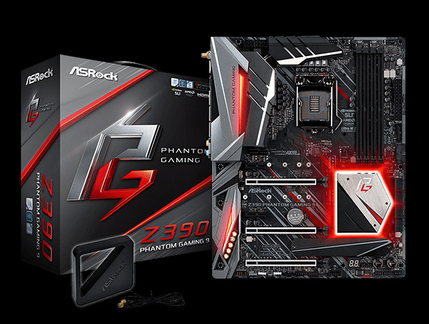 ASRock Z390 Phantom Gaming 9 LGA 1151 (300 Series) ATX Intel Motherboard -  Newegg com