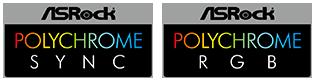 ASRock Polychrome Sync and RGB Logos