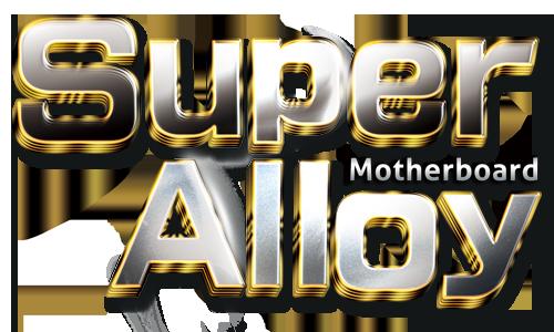 B365 Motherboard Super Alloy Motherboard Logo