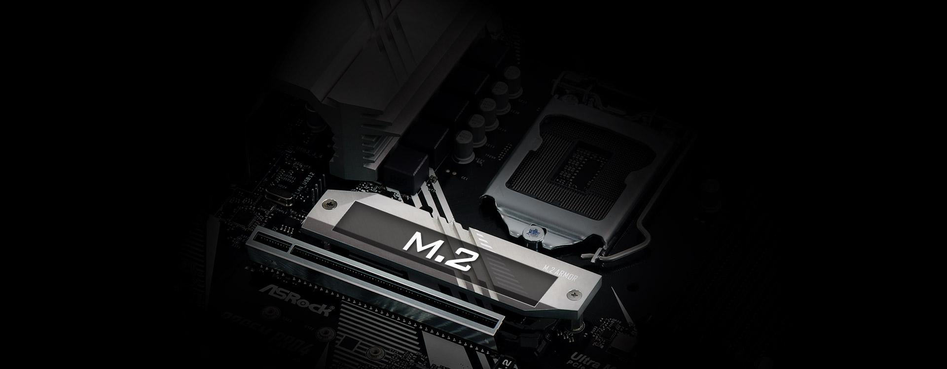M.2 Slot under the CPU Slot