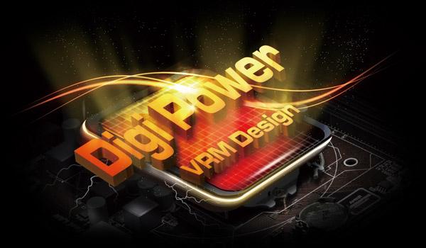 DigiPower VRM Design Logo