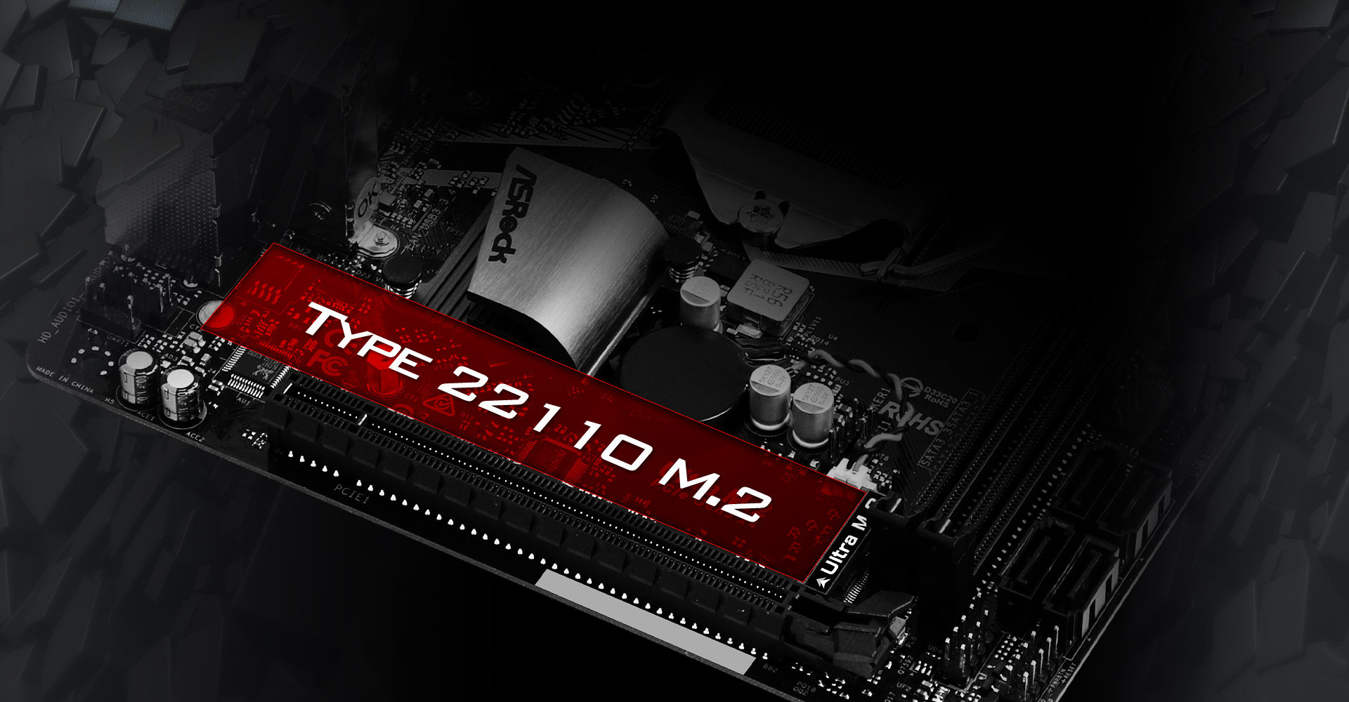 TYPE 22110 M.2 Slot on the Motherboard