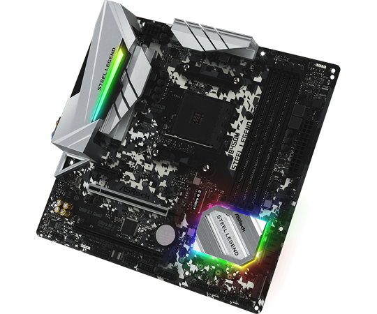 c0_ASRock B450M Steel Legend Motherboard