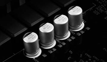 Solid Capacitors on the ASRock motherboard