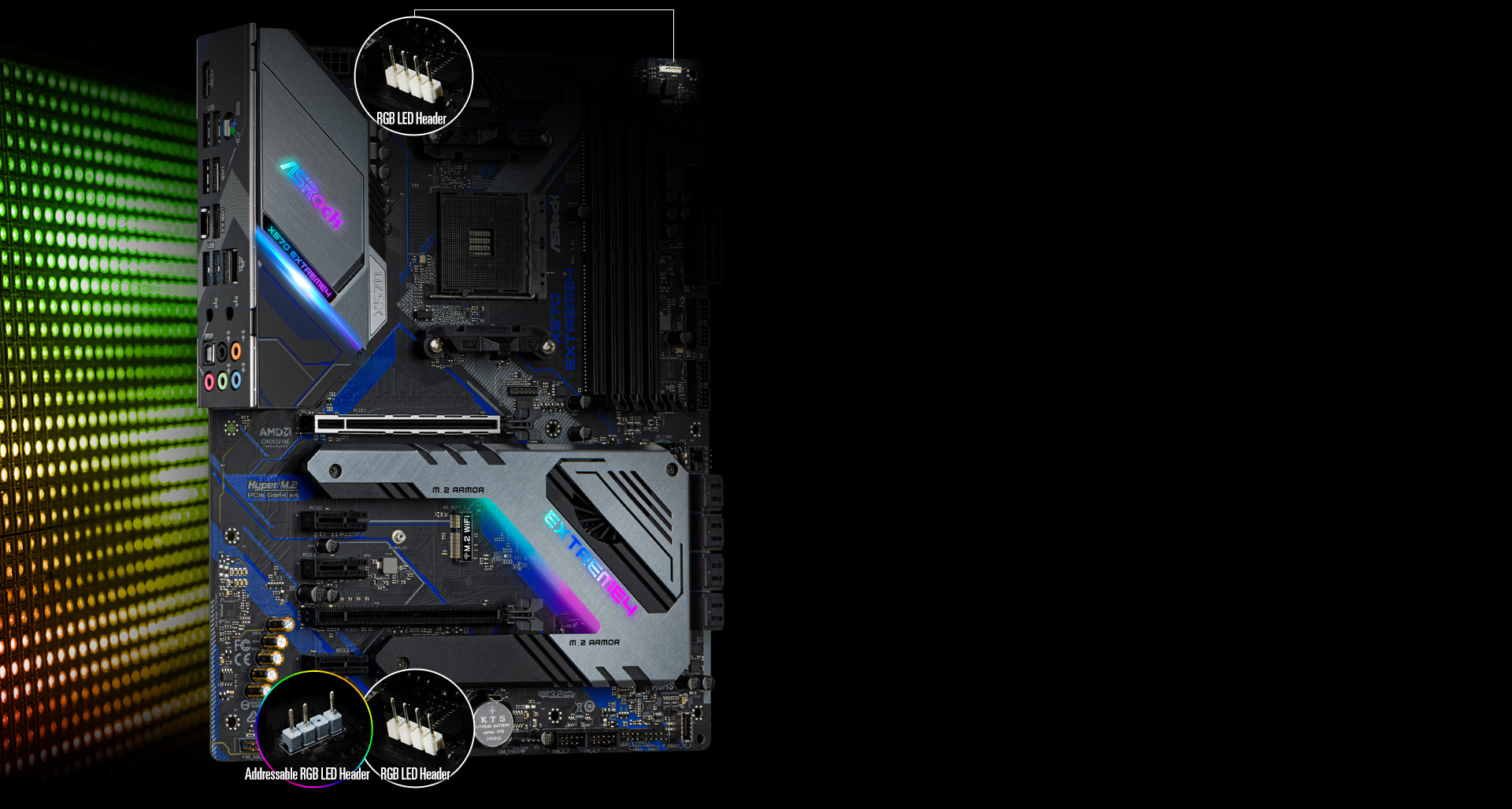 ASRock X570 EXTREME4 AM4 ATX AMD Motherboard - Newegg com