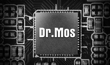 Dr. MOS Chip on the ASRock X570 Phantom Gaming-ITX/TB3 Motherboard