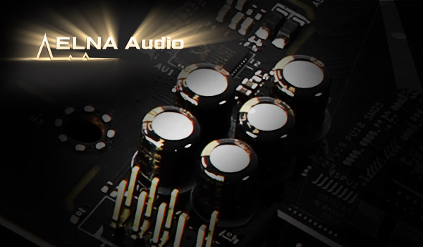 ELNA Audio Caps X570 Phantom Gaming 4 WiFi ax