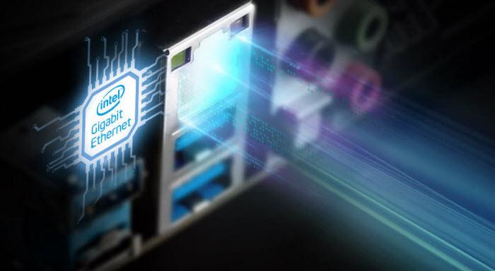 Intel LAN port of ASRock B365M-HDV motherboard